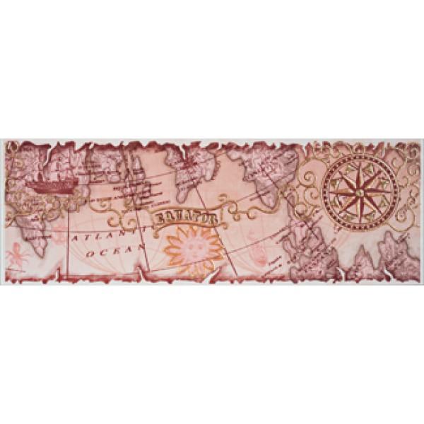 ARENA EKVATOR Бордюр розовый PN 9,6х27,5
