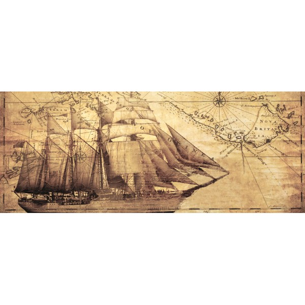 Royal Map Панно 40x100 (4пл)