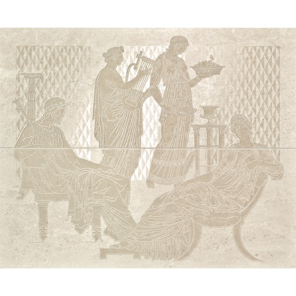 Comp. Raffaello Cream Панно (из 2-х пл.) 48х59