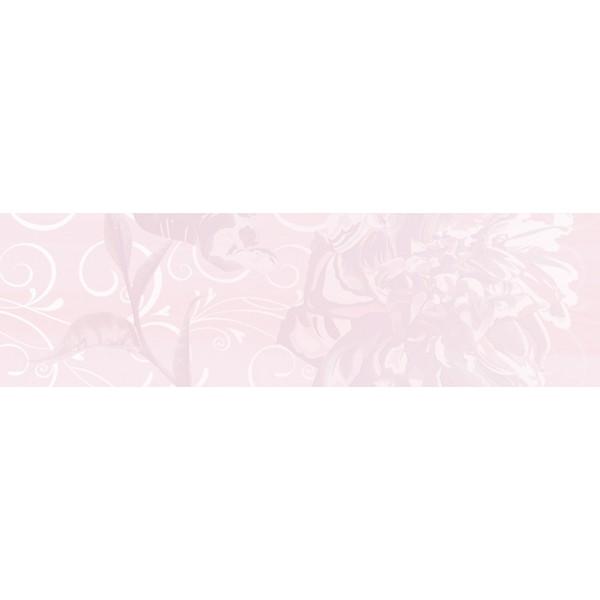 Dec. Flower Pink B Декор 29x100