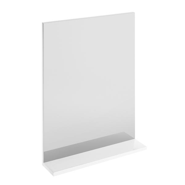 Зеркало CERSANIT Melar P-LU-MEL с полочкой, без подсветки, цв.белый