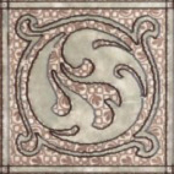Раполано Декор напольный 9,8х9,8