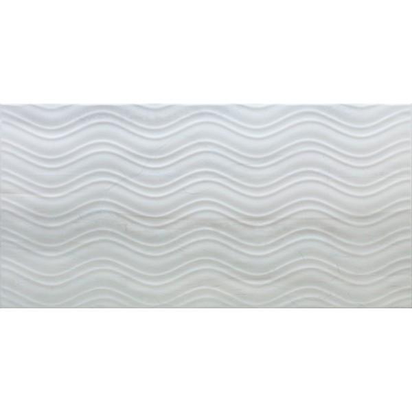 Blast Декор белый рельефный K080645 30х60
