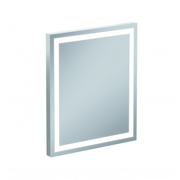 Зеркало CERSANIT LED LU-LED70-Os с подсветкой, возможность вертикального и горизонтального размещени