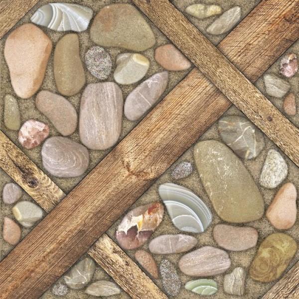 Аризона Керамогранит коричневый 41,8х41,8
